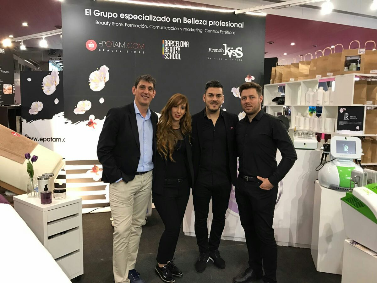 IR Group en Cosmobeauty Barcelona 2017